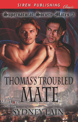 Thomas's Troubled Mate by Sydney Lain