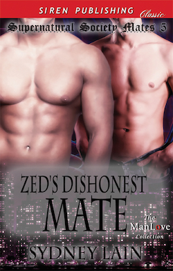 Zed's Dishonest Mate by Sydney Lain